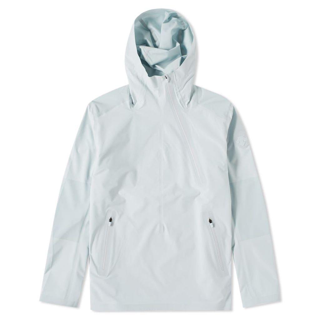 Descente Allterrain Schematic Shield Parahem Jacket Celestial White