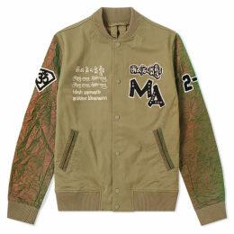 Maharishi Mani Stadium Varsity Jacket Olive