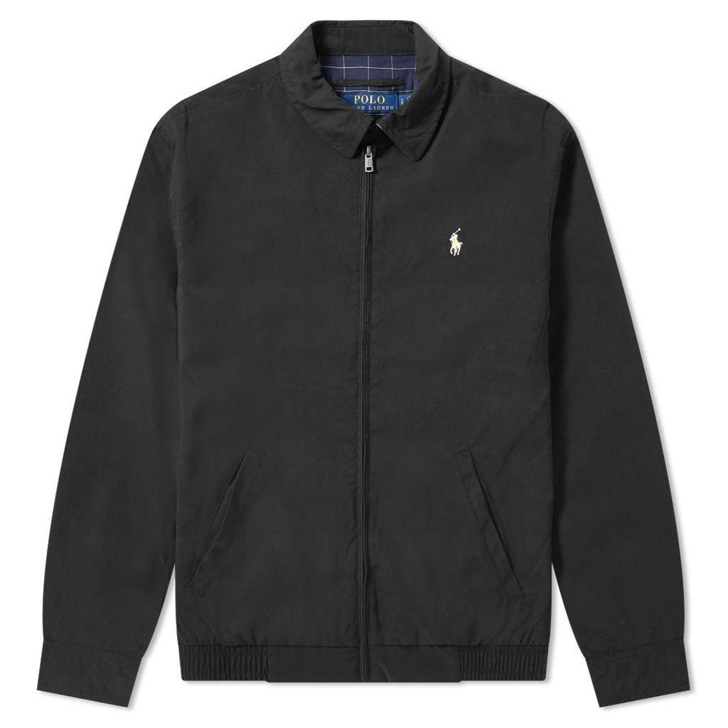 Polo Ralph Lauren Windbreaker Harrington Jacket RL Black