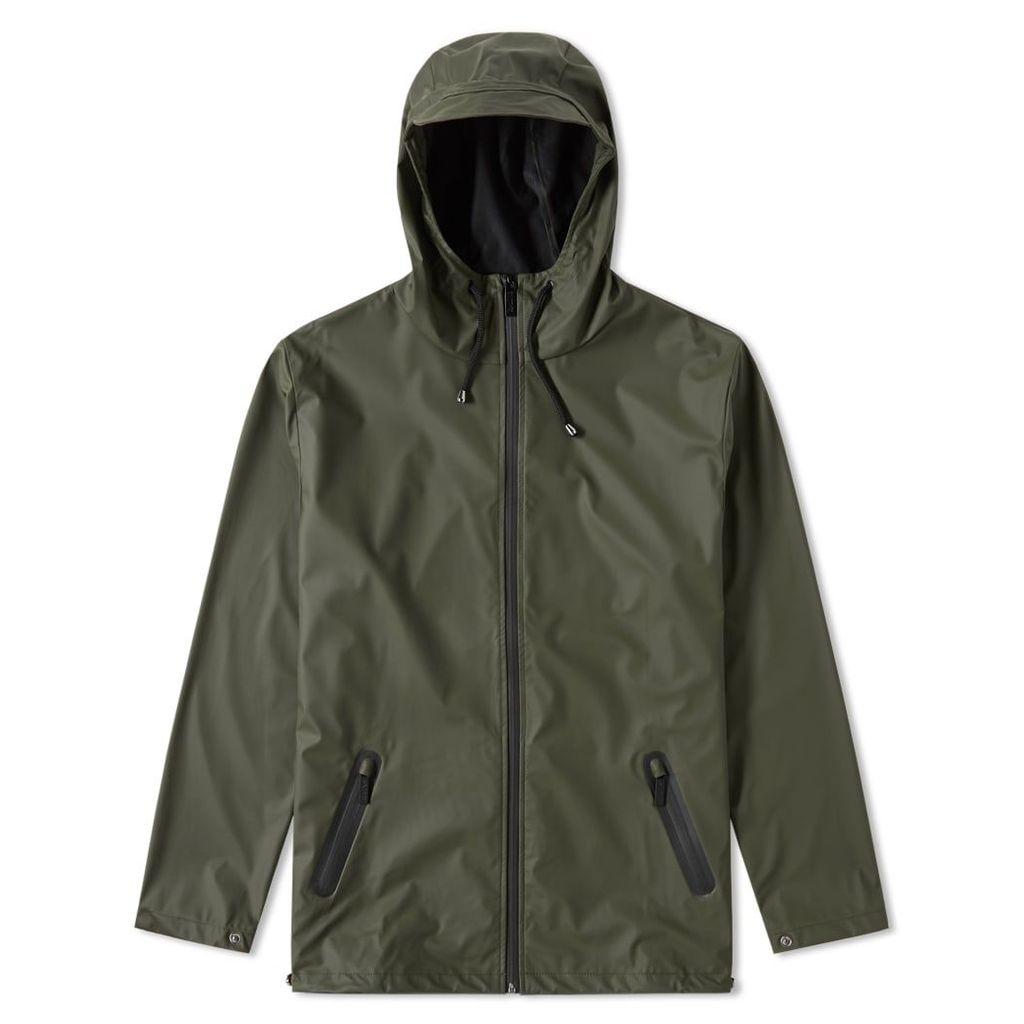 Rains Breaker Jacket Green