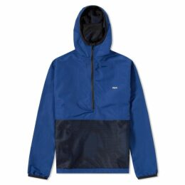 Raised by Wolves Mesh Pocket Popover Jacket Navy