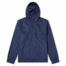 Soulland Newill Popover Nylon Hood Jacket Navy