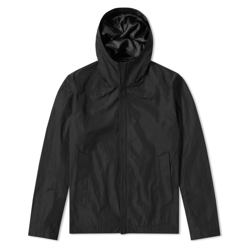 Edifice Chambray Memory Hooded Blouson Black