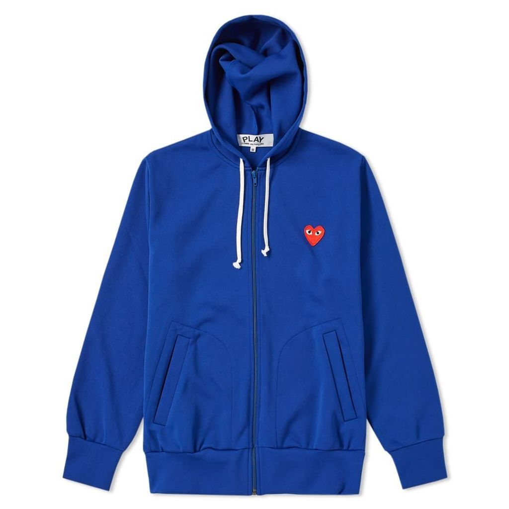 Comme des Garcons Play Full Zip Hoody Blue