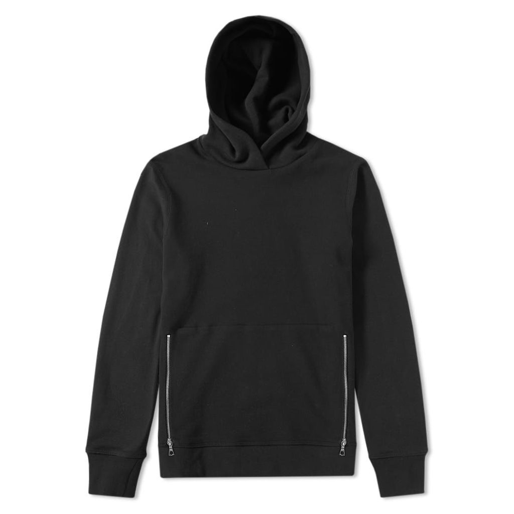 John Elliott Villain Hooded Pullover Black