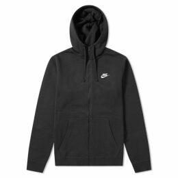 Nike Club Hoody Black & White
