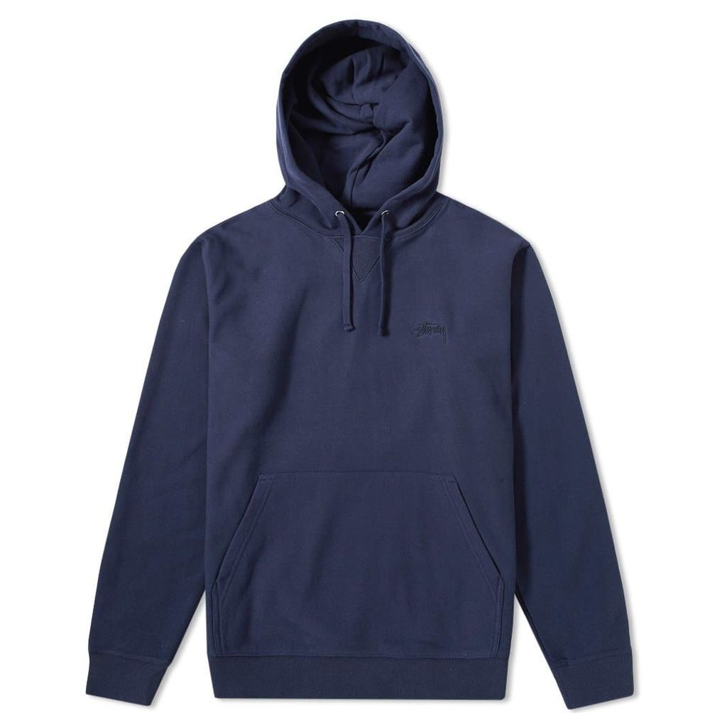 Stussy Stock Terry Hoody Navy