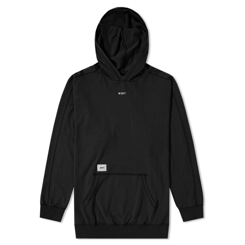 WTAPS Long Sleeve Hooded Tee Black