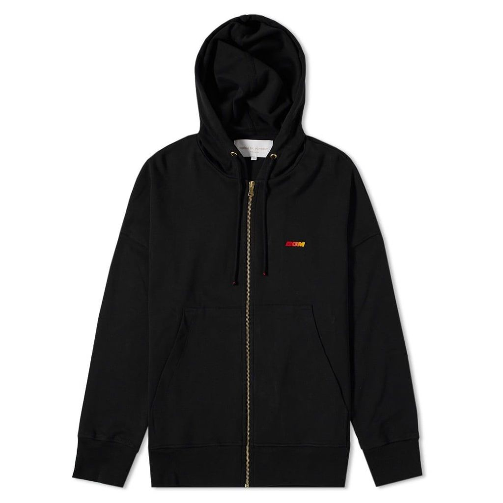 Drôle de Monsieur Sunset Zip Hoody Black
