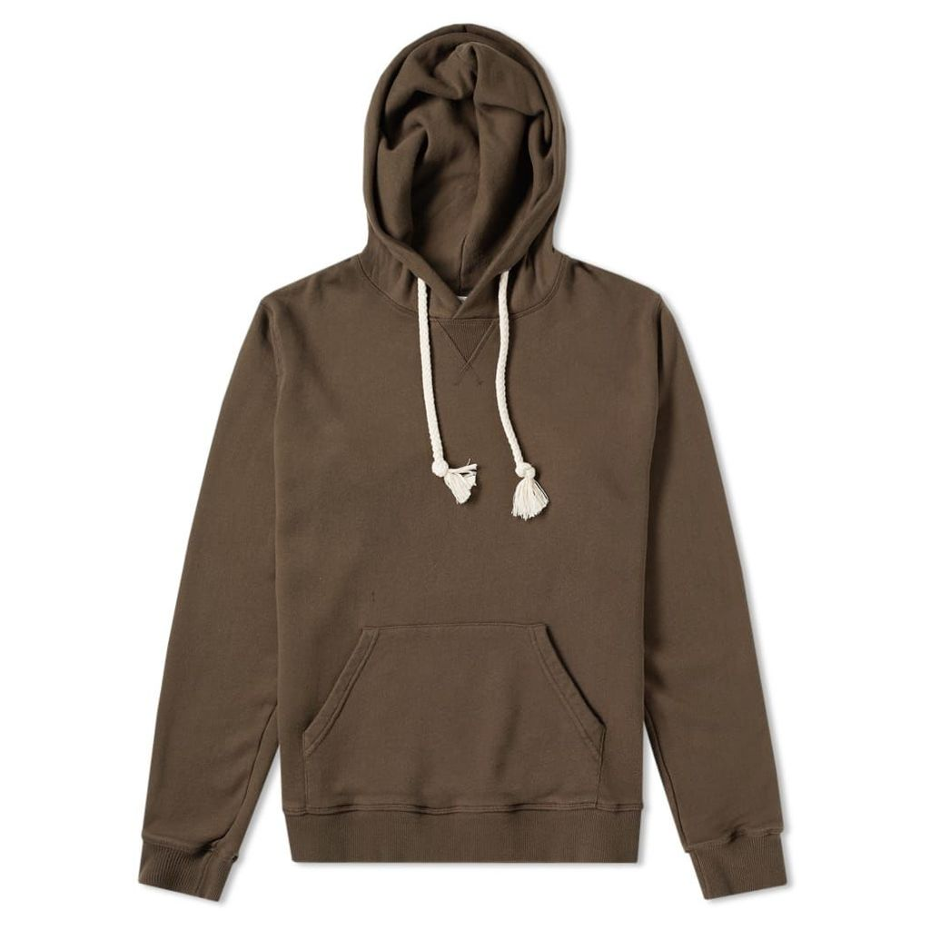 JW Anderson Embroidered Logo Hoody Khaki