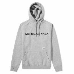MKI Mix Logo Hoody Grey