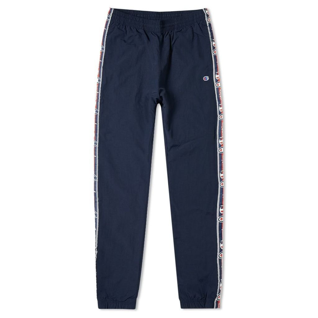 Champion Reverse Weave Vintage Taped Track Pant Navy
