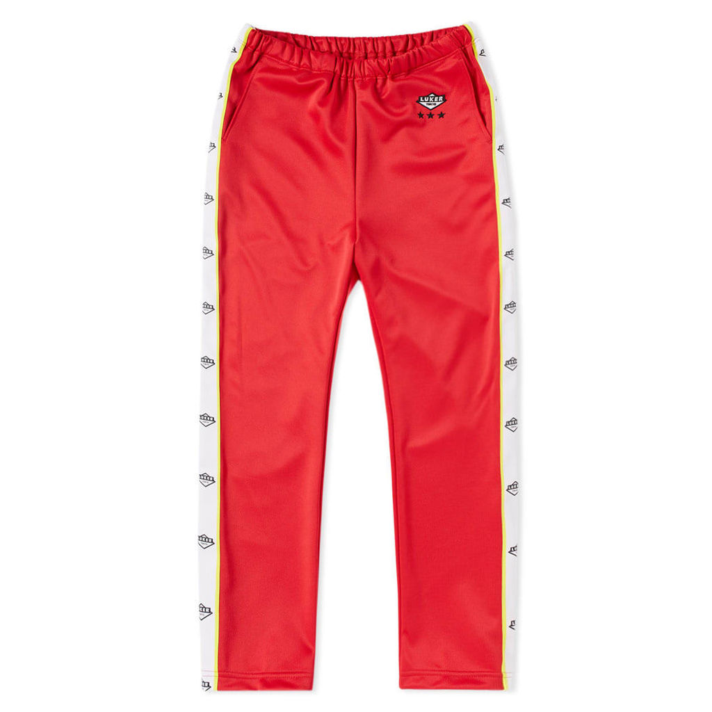 Luker by Neighborhood Track Pant Red