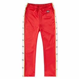 Luker by Neighborhood Track Pant Red