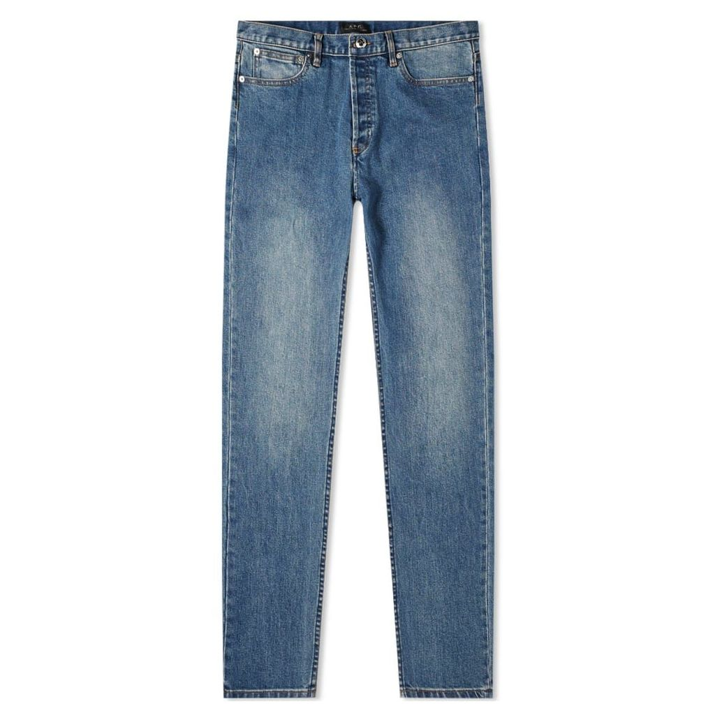 A.P.C. Petit New Standard Jean Washed Indigo