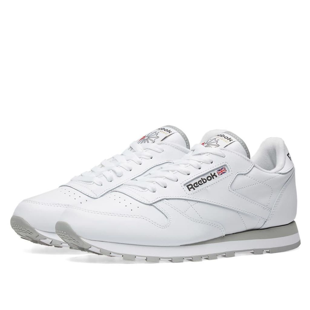 Reebok Classic Leather White & Light Grey