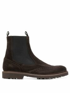 Eleventy ankle boots - Brown