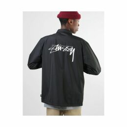 Stüssy Cruize Coach Jacket - Black (XL)