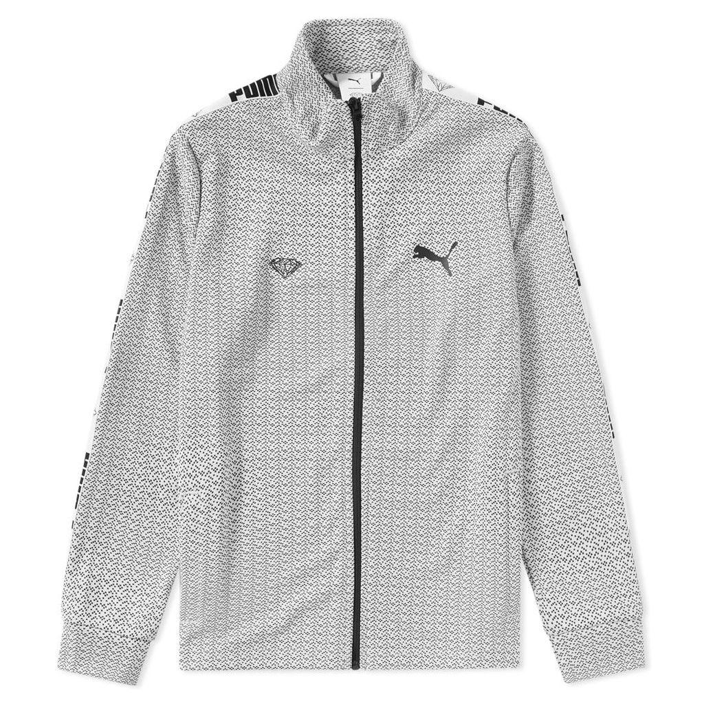 Puma x Diamond Track Jacket Puma White