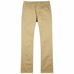 Nudie Jeans Adam Sand Slim-leg Chinos
