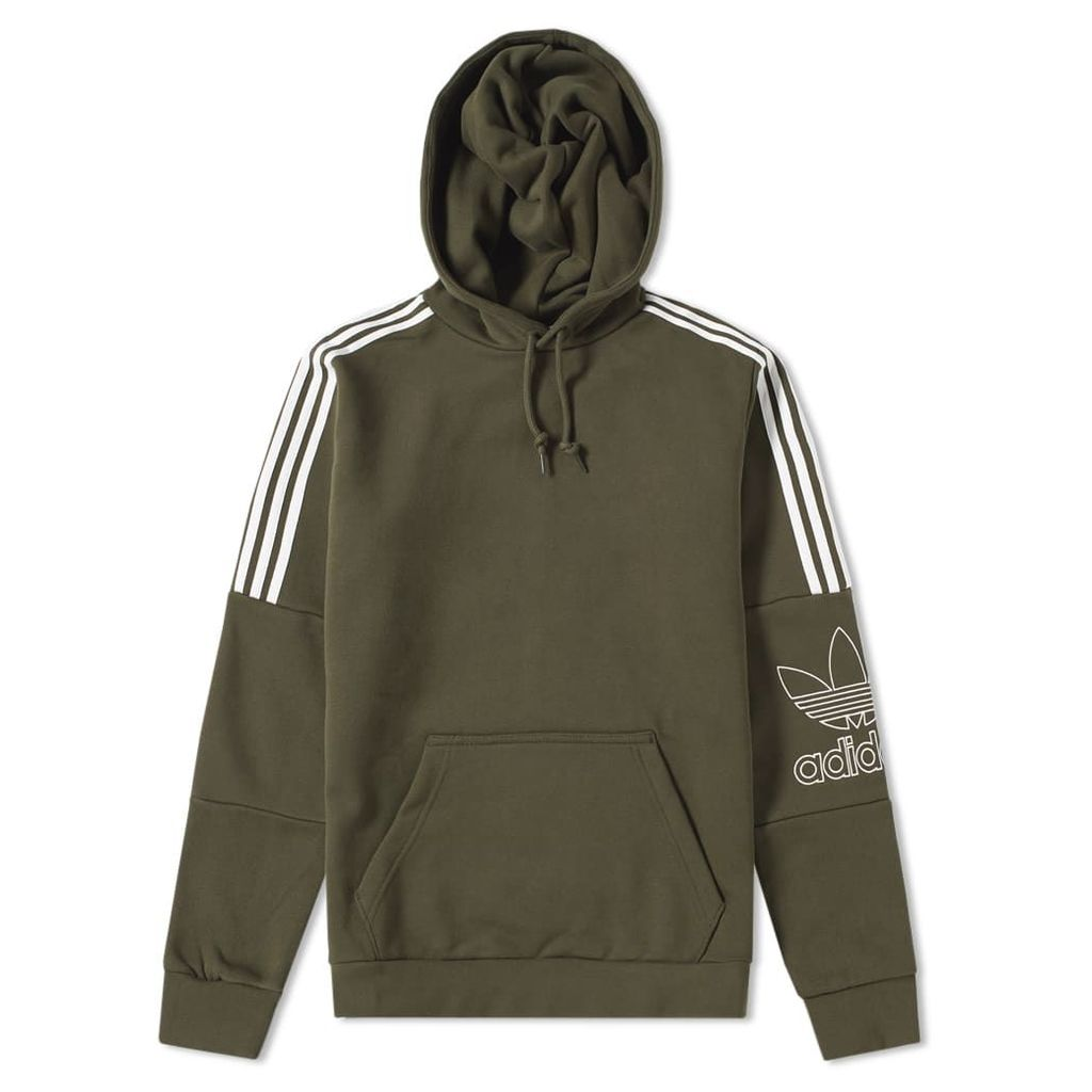 Adidas Outline Hoody Night Cargo