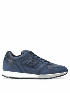 Hogan logo sneakers - Blue