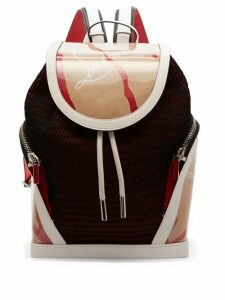Christian Louboutin - Kraft Explorafunk Chunky-knit Backpack - Mens - Beige Multi
