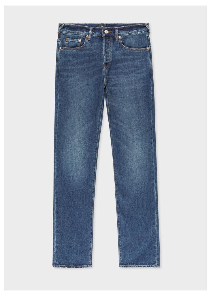 Men's Classic-Fit Dark Wash 12.5oz 'Rigid Western Twill' Jeans