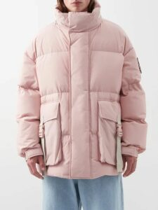 Balenciaga - Self Diagram Print Cotton Sweatshirt - Mens - Grey