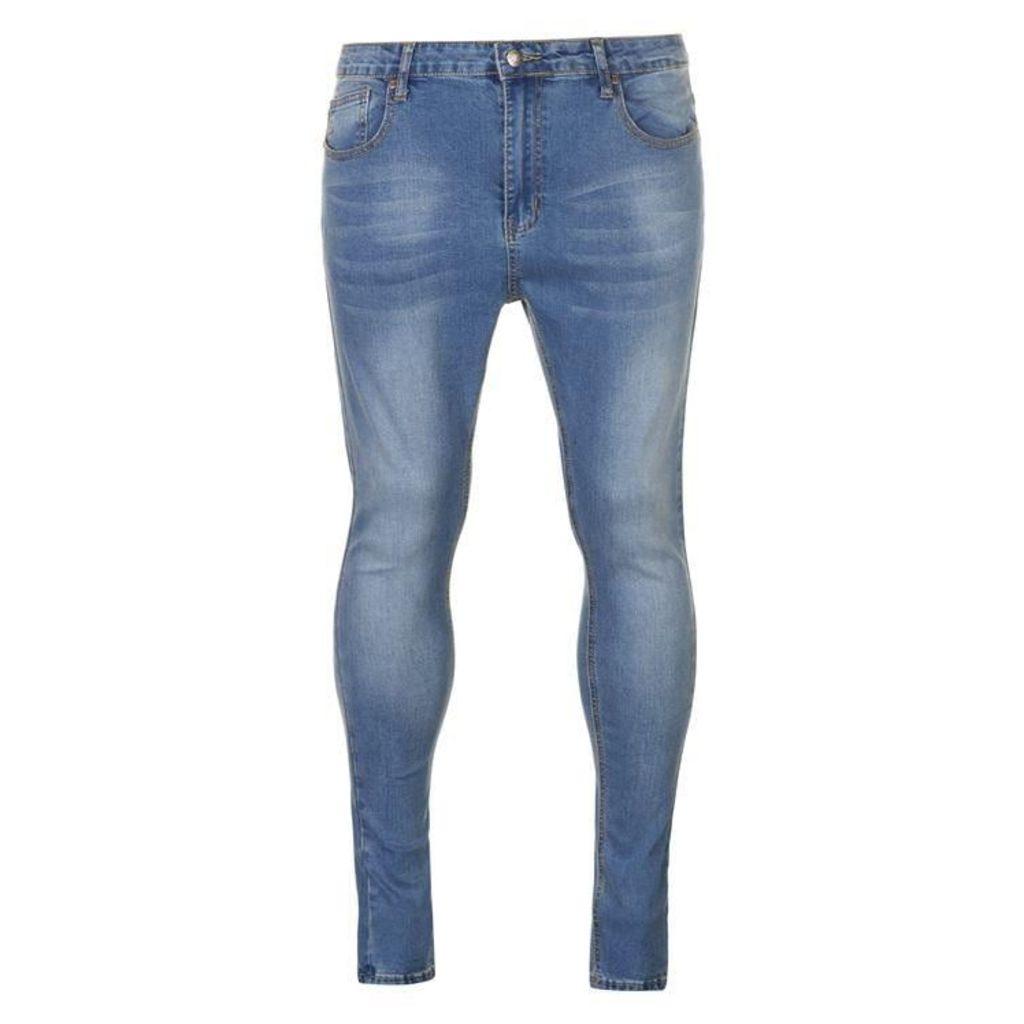 ALWAYS RARE Mickey Spray On Skinny Jeans
