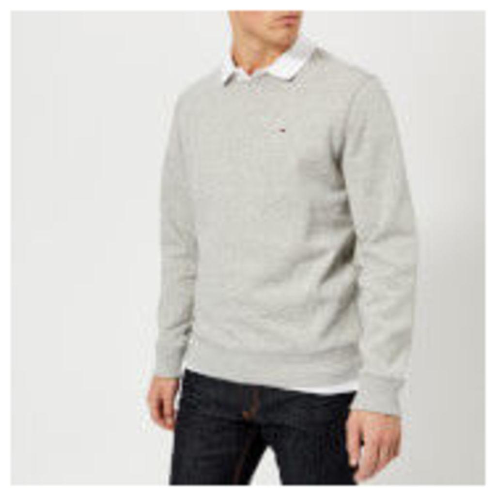 Tommy Jeans Men's Original Sweatshirt - Light Grey Heather