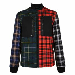 Lanvin Patchwork Check Jacket