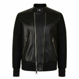 Neil Barrett Neoprene Napa Jacket