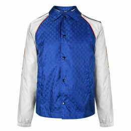 Gucci Gg Supreme Panel Contrast Jacket