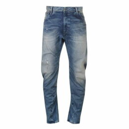 G Star Raw Arc 3D Loose Tapered Mens Jeans - med aged destry