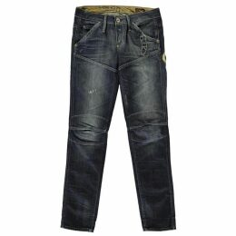 G Star Elwood Heritage Embro Tapered Jeans