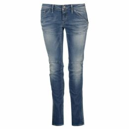 G Star New Elva Tapered Slim Fit Jeans - uv aged