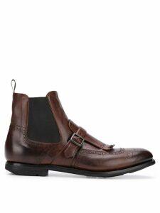 Church's Shanghai buckled boots - Brown
