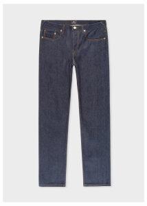 Men's Tapered-Fit 12.5oz 'Rigid Western Twill' Indigo Denim Jeans