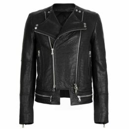Balmain Bubble Leather Jacket