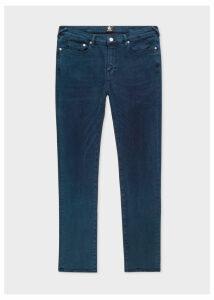 Men's Slim-Fit 'Reflex Super Stretch' Navy Over-Dye Jeans