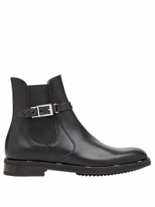 Fendi buckle ankle boots - Black