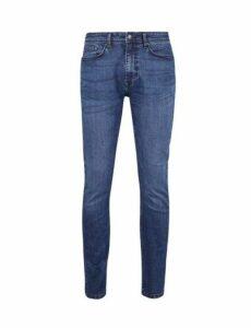 Mens Indigo Tyler Skinny Fit Jeans, Blue