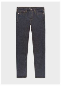 Men's Standard-Fit 13oz Indigo Rinse 'Exclusive And Pink Selvedge' Denim Jeans