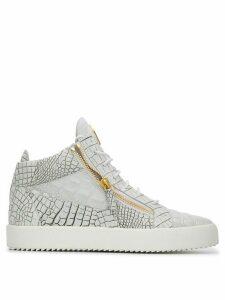 Giuseppe Zanotti Kriss high top sneakers - White