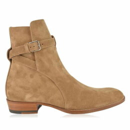 Saint Laurent Wyatt Jodhpur Ankle Boots