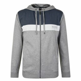 Boss Bodywear Panel Tonal Zip Sweatshirt