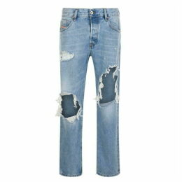 Diesel Ripped Slim Fit Jeans