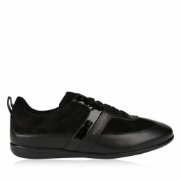 Versace Collection Suede Low Top Trainers