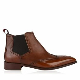 Jeffery West Capone Wing Tip Chelsea Boots